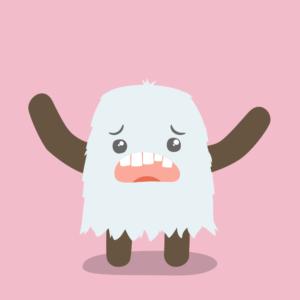 Cute Baby Yeti Cartoon