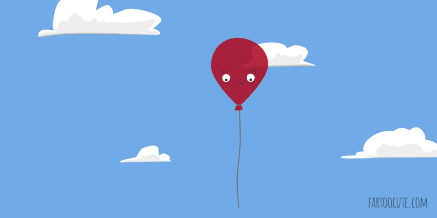 Cute Balloon Cartoon