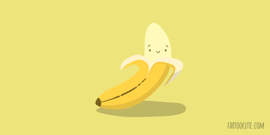 Cute Banana Cartoon