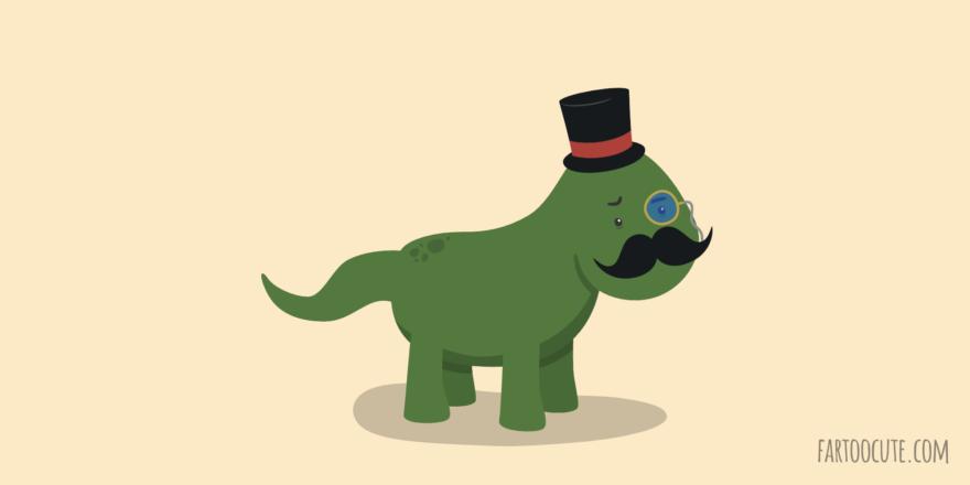 Cute Dinosir Cartoon