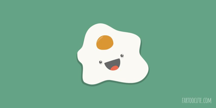 Cute Egg Cartoon