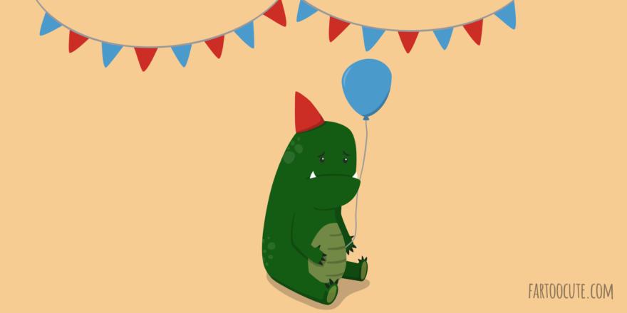 Young Godzilla Cartoon