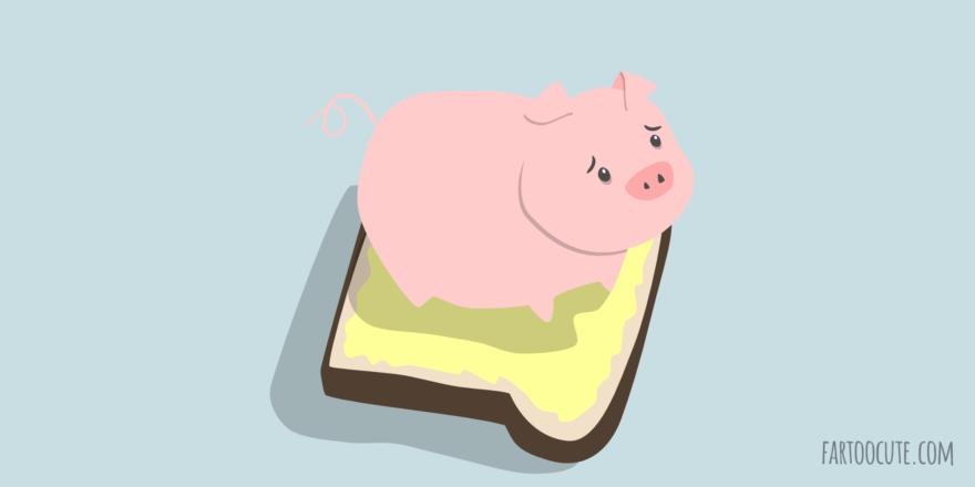 Ham Sandwich Cartoon