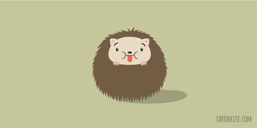 Cute Hedgehog Cartoon