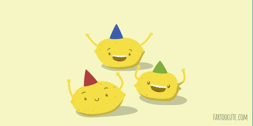 Lemon Party Cartoon