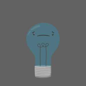 Cute Bulb Cartoon