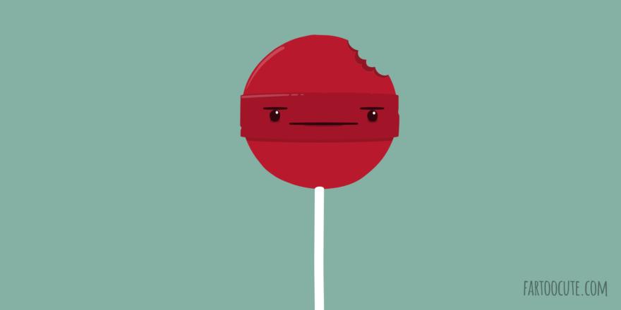 Cute Lollipop Cartoon