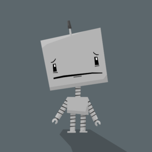 Cute Robot Cartoon