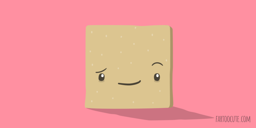 Cute Saltine Cartoon