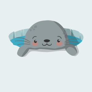Cute Happy Seal