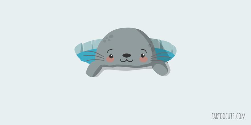 Cute Happy Seal