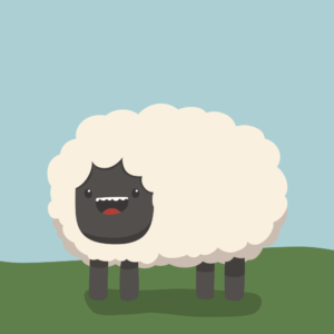 Cute Sheep Cartoon