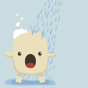 Cute Soap Cartoon